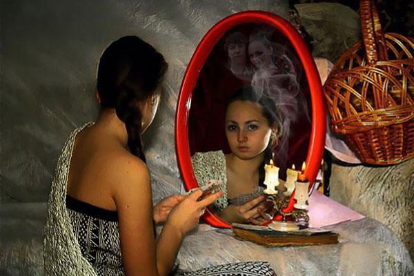 Гадание со свечой, гадание с зеркалом, различные способы гадания