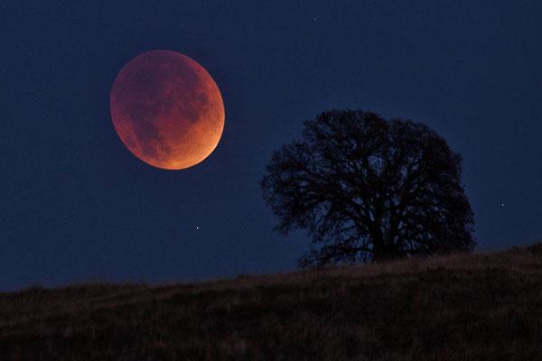 какие заговоры читают на лунное затмение
