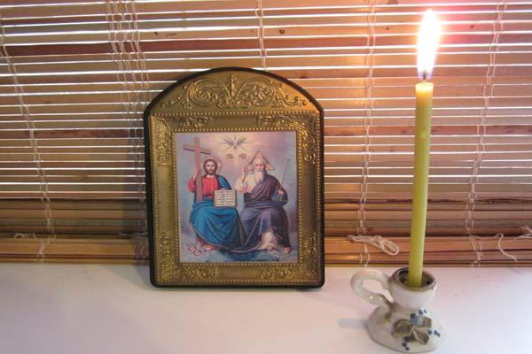 "икона ""Святая Троица"" фото"