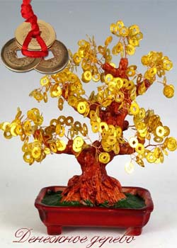 Денежное дерево своими руками по фен шуй